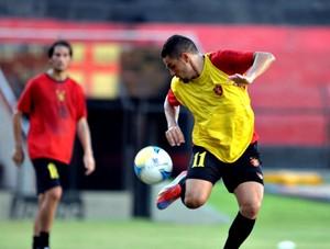 Felipe Azevedo é o espião do Sport (Foto: Aldo Carneiro / Pernambuco Press)