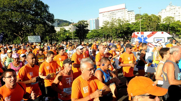 EU ATLETA 10K RIO 2013  (Foto: Marcelinho de Jesus / Globoesporte.com)
