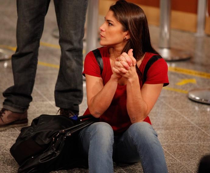 Priscila Fantin durante o ensaio do Tomara Que Caia (Foto: Gshow / Artur Meninea)
