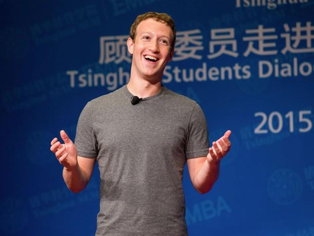 Mark Zuckerberg, criador do Facebook, dá palestra na Universidade de Tsinghua (Foto: Reprodução/Facebook/Mark Zuckerberg)