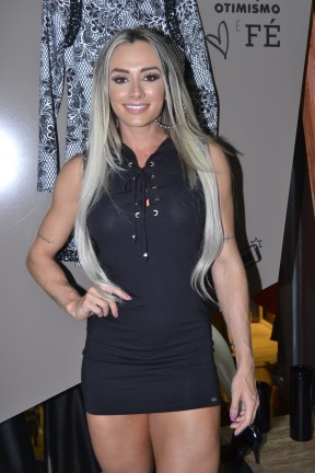 Juju Salimeni em evento de moda em São Paulo (Foto: Araújo/ Azzi Agency/ Divulgação)