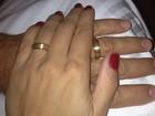 Casamento à vista? Nívea Stelmann ganha aliança do namorado