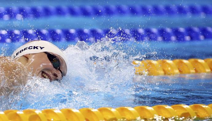 Katie Ledecky natação (Foto: Reuters)
