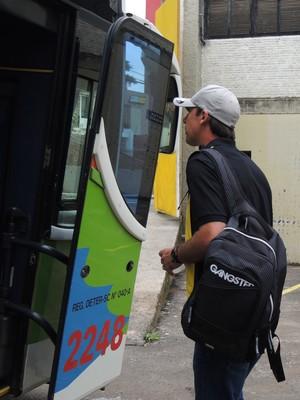 Embarque Criciúma (Foto: João Lucas Cardoso)