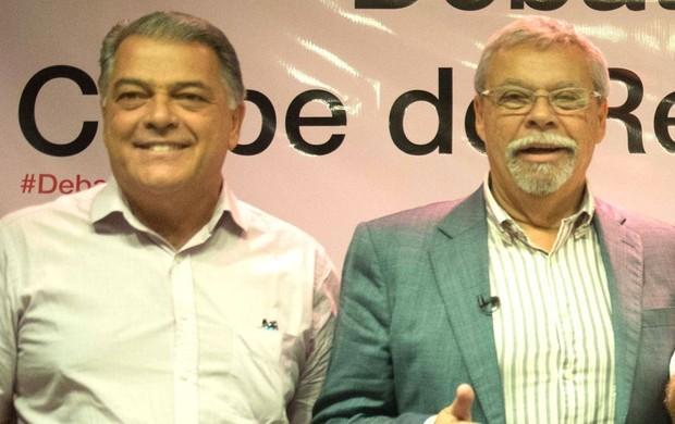 Maurício Rodrigues e Jorge Rodrigues flamengo (Foto: Celso Pupo / Agência Estado)