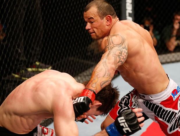 UFC John Cholish e Gleison Tibau (Foto: Agência Getty Images)
