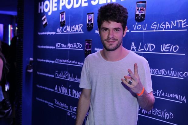 Mauricio Destri no Rock in Rio (Foto:  Felipe Panfili e Marcello Sá Barretto / AgNews)