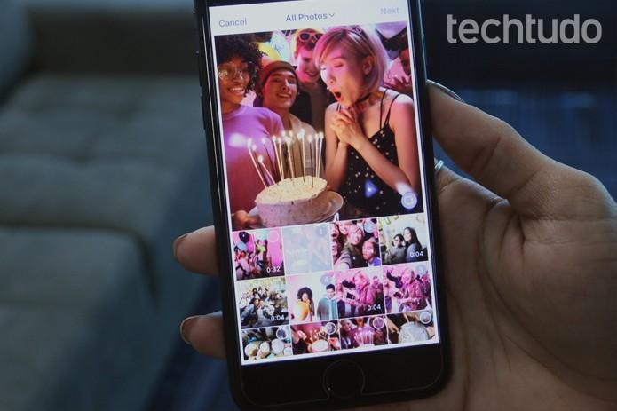 Como criar um post com várias fotos no Instagram (Foto: Gabrielle Lancellotti/TechTudo)