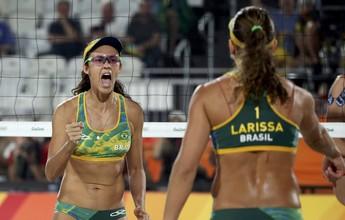Larissa/Talita e Val/Renata decidem título da abertura da temporada no MS