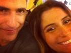 Giovanna Antonelli se diverte com Reynaldo Gianecchini em Ibiza