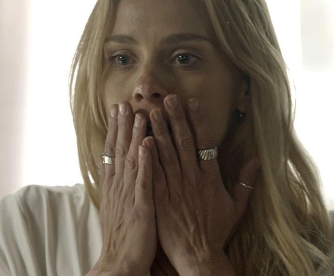Qual será a reação da loira após o beijo? (Foto: TV Globo)