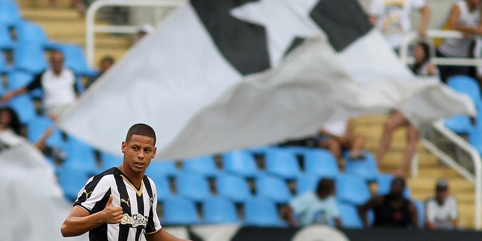Fernandes Botafogo x Bonsucesso (Foto: Satiro Sodré/SS Press)