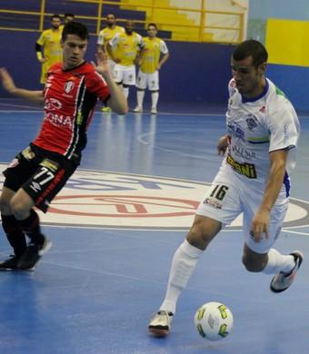São José Futsal x Joinville Liga Futsal (Foto: Brenno Domingues/Quarttus Marketing)