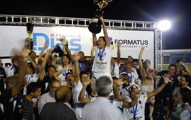 campeonato paraibano, treze, botafogo-pb, taça, campeão (Foto: Larissa Keren / Globoesporte.com/pb)