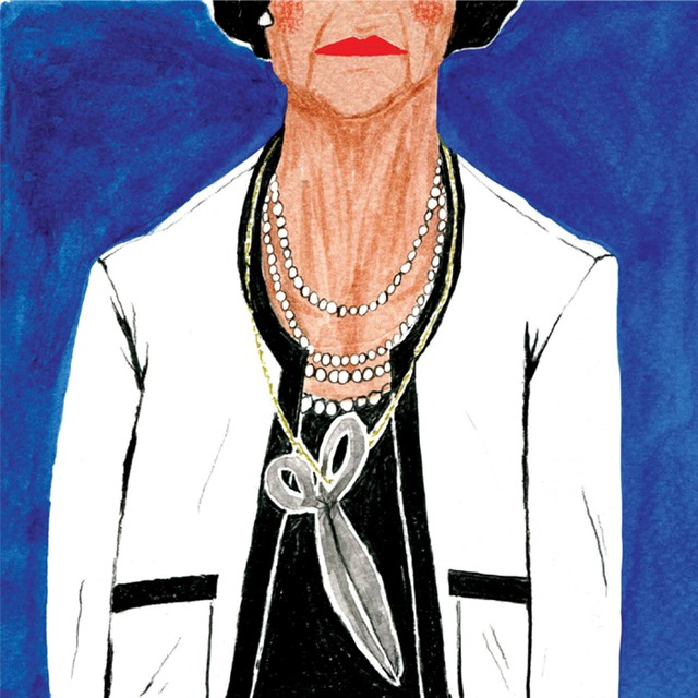 """Ilustração do livro """"Coco Chanel"""" (Foto: Divulgação)"""