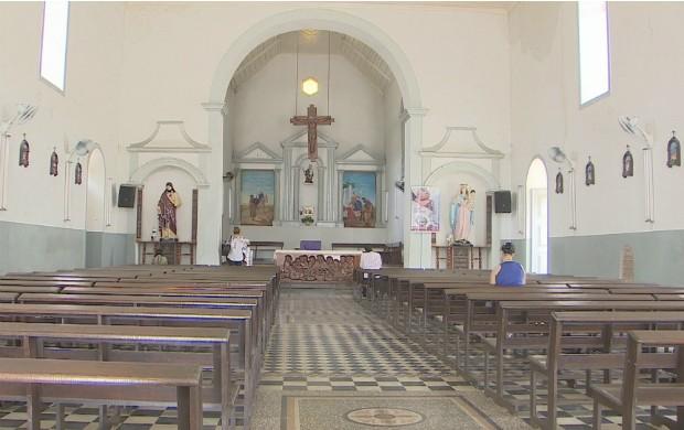Igreja de São José de Macapá não pôde ser tombada pelo Iphan (Foto: Reprodução/Bom Dia Amazônia)