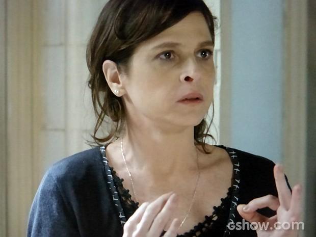 Cora diz com todas as letras que Zé é pai de Cristina (Foto: Império/TV Globo)
