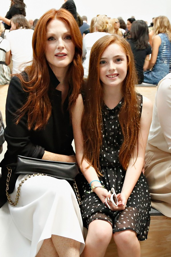 Julianne Moore e Liv Freundlich (Foto: Getty Images)