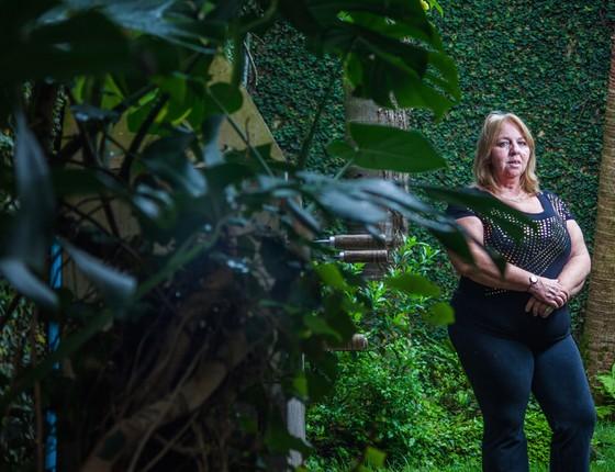 Valeria que teve complicações por conta do Zika Vírus (Foto: Rogério Cassimiro/ÉPOCA)