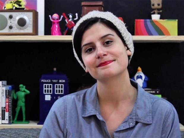 A roteirista Rebeca Puig, do site Collant sem decote (Foto: Arquivo pessoal)