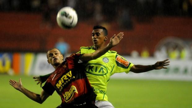 Sport x Palmeiras (Foto: Aldo Carneiro/Pernambuco Press)