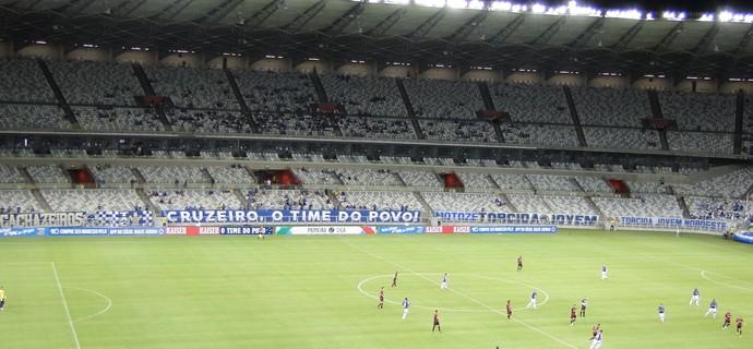 Estádio Mineirão; Cruzeiro x Atlético-PR (Foto: Marco Astoni)