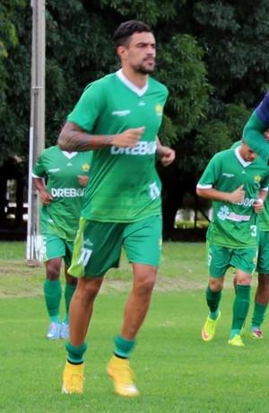 Treino Cuiabá, Alex Willian, 2015 (Foto: Assessoria/Cuiabá Esporte Clube)