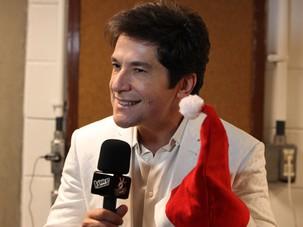 Daniel comemora a data e deseja um natal de realizações (Foto: The Voice/ TV Globo)