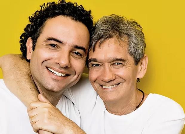 Marco Luque e Serginho Groisman (Foto: Gabriel Rinaldi/Ed. Globo)