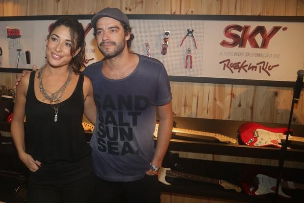Gisele Itié e Guilherme Winter (Foto: Francisco Silva e Denilson Santos/AgNews)