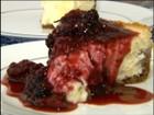 Cheesecake de Frutas Vermelhas é uma sobremesa gostosa e bonita