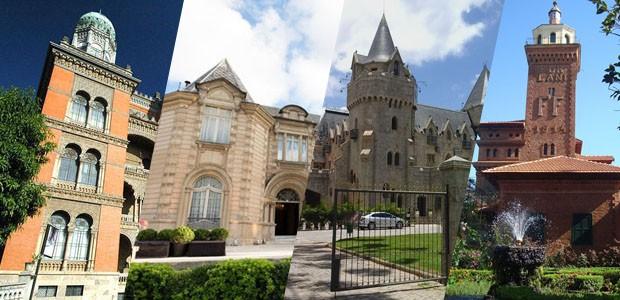 10 castelos brasileiros (Foto: Reprodução)