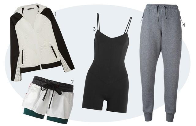 Fitness minimalista (Foto: Reprodução)