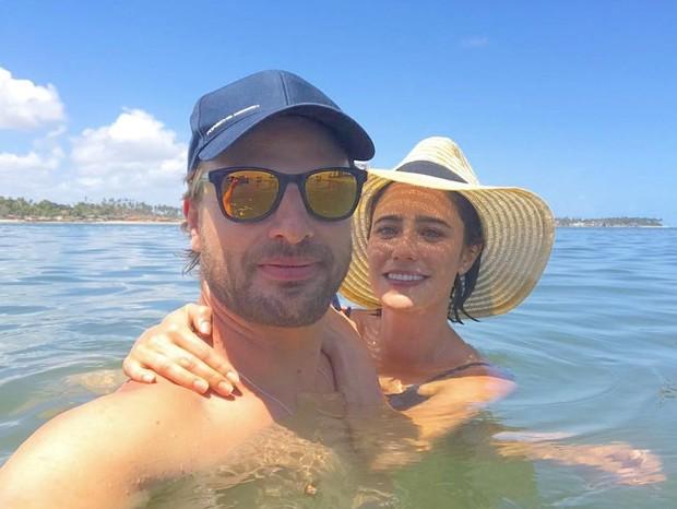Cássio Reis e Fernanda Vasconcellos (Foto: Reprodução / Instagram)
