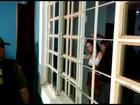 Assaltante que fez família refém no Aeroporto Velho presta depoimento