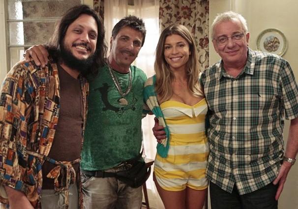 Grazi Massafera faz participação especial na temporada final de A Grande Família (Foto: Globo)