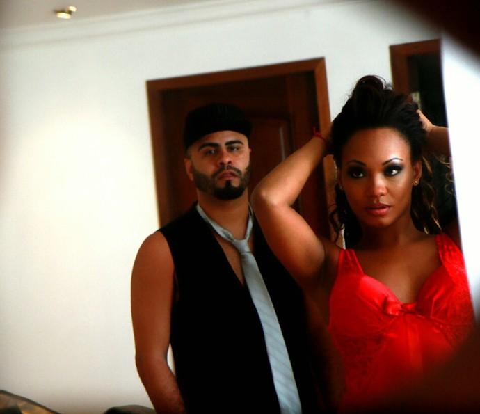 Luana Bandeira e Leandro completam um ano de namoro em 29/6 (Foto: Luiz Eduardo)