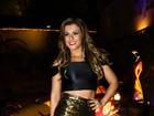 Babi Rossi sobre dieta: 'Quero ficar fina com roupa e gostosa de biquíni'