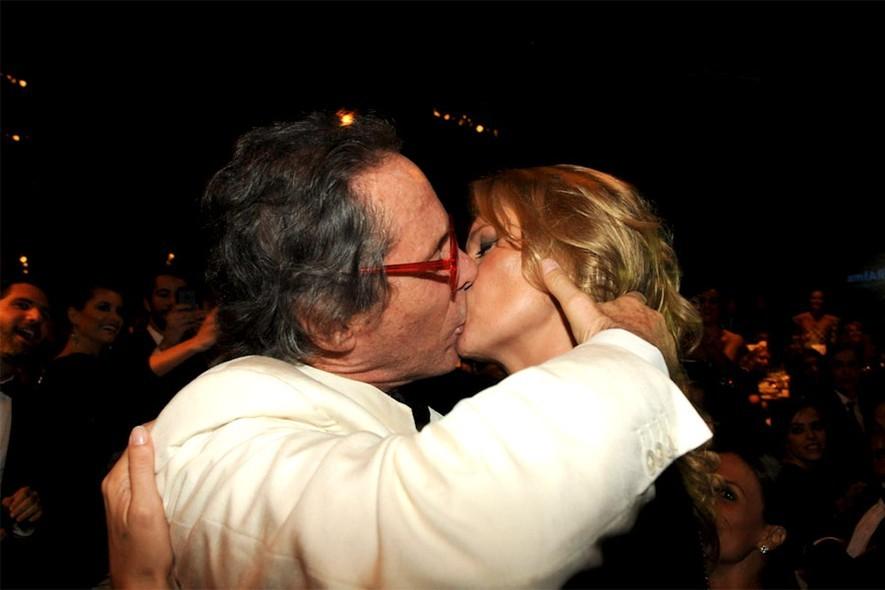 Kate Moss e Luis Osvaldo Pastore  (Foto: Divulgação)
