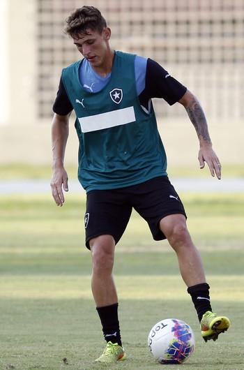 Dierson Botafogo treino (Foto: Vitor Silva / SSPress)