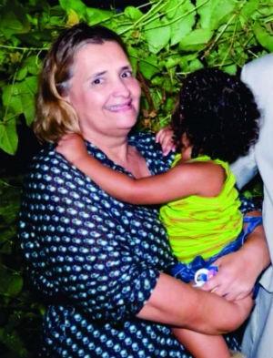 Rossana desapareceu após sair de casa para cumprir mandato judicial, em Porto Nacional (Foto: Divulgação)