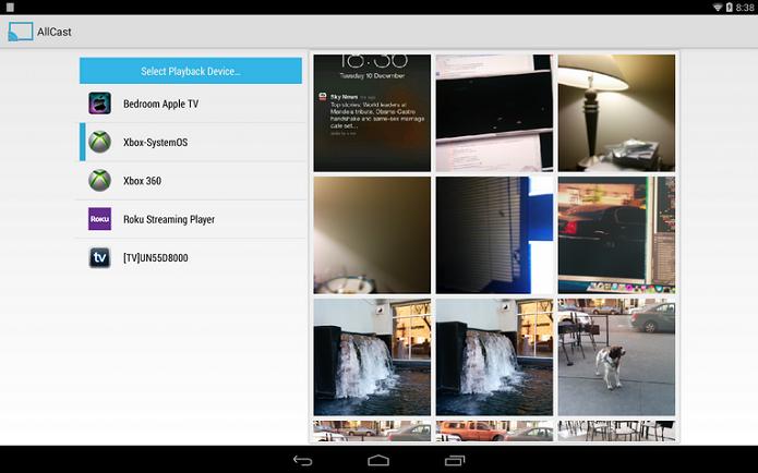 AllCast é um aplicativo que possibilita a interação um Android com TVs, videogames e streaming players (Foto: Divulga~