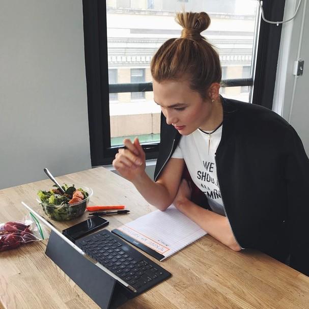 Karlie Kloss: modelo e programadora! (Foto: Instagram/Reprodução)