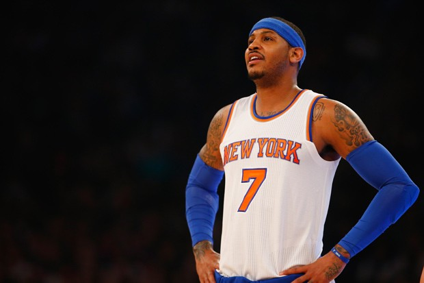 Carmelo Anthony (Foto: Getty Images)