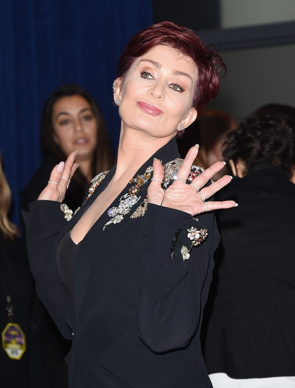 A empresária Sharon Osbourne (Foto: Getty Images)