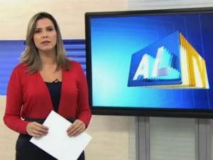 Thaíse Cavalcante comanda o ALTV 1ªEdição (Foto: Reprodução/TV Gazeta)