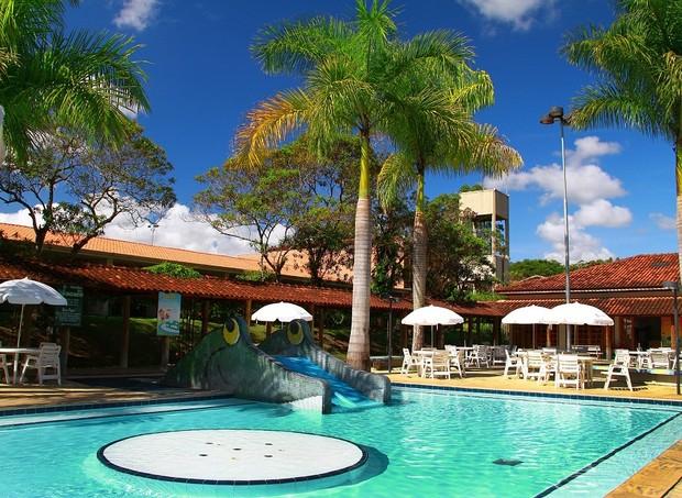O Mazza oferece uma piscina exclusiva para as crianças (Foto: Divulgação)