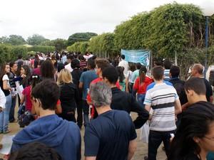 Vestibular da Uesb tem abstenção de 15,72% em dois dias de provas (Foto: Divulgação)