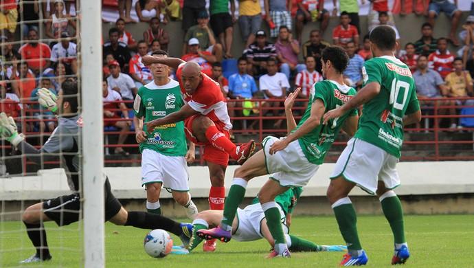 CRB x Luverdense, no Rei Pelé (Foto: Ailton Cruz/ Gazeta de Alagoas)