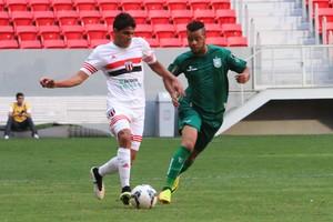 Daniel Borges, lateral-direito do Botafogo-SP, Gama (Foto: Rogério Moroti / Agência Botafogo)